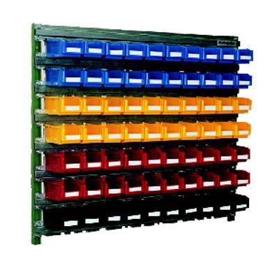 wall mounted bin storage 70x sb105 bins w1m10a bin storage for sale. Black Bedroom Furniture Sets. Home Design Ideas