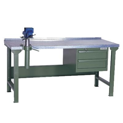 Heavy Duty Workbench With Galvanised Steel Top Wks 200 18gs Workstations For Sale