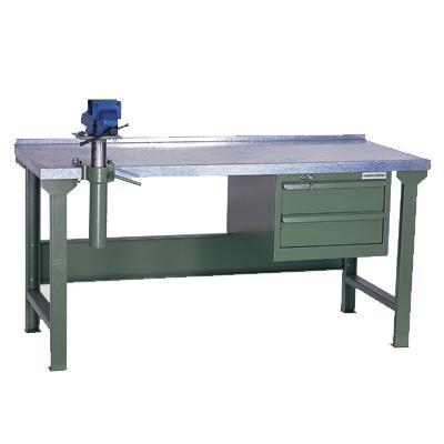 Heavy Duty Workbench With Steel Top Wks 200 18s