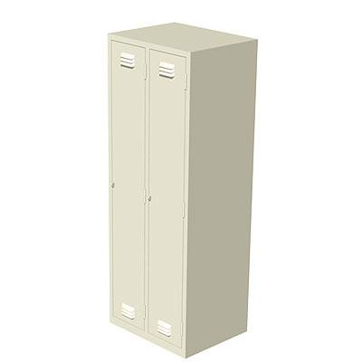 Locker with 2 doors height 1700 width 627 and depth 500mm for Kitchen cabinets 500mm depth