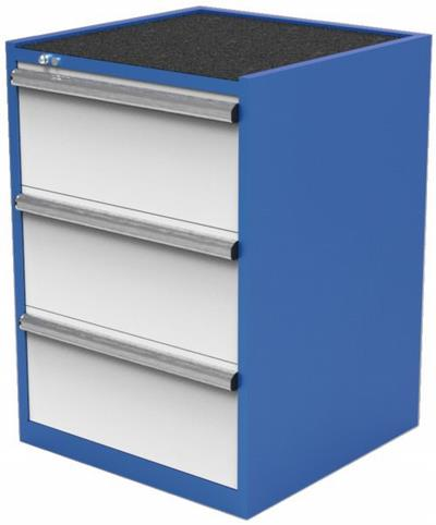 Tool Storage Cabinet Height 1000mm 3 Drawers Drawer Cabinets For Sale