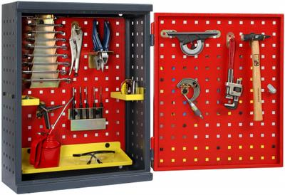 Wall Mounted Perforated Compact Tool Cabinet   Newest Products For Sale